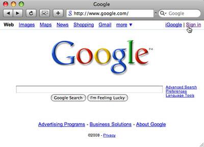 Google-signup
