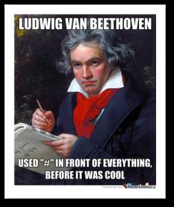 beethoven-hashtags