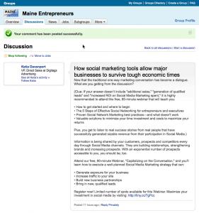 Maine Entrepreneurs