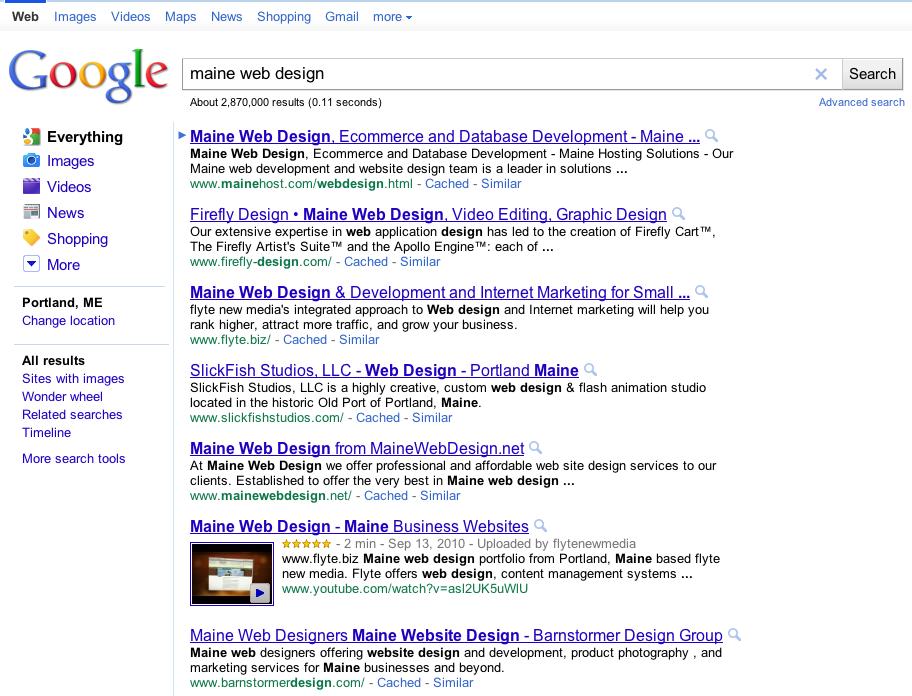 Maine Web Designers
