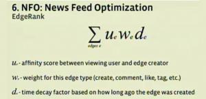 EdgeRank Formula