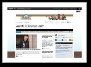 Agents of Change Paper.li Pro