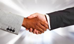 Hands Shaking - Diversity